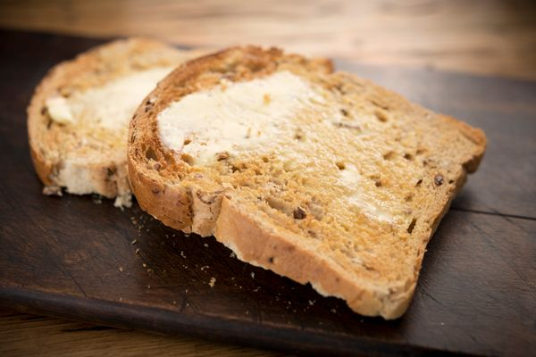 "You're rich now, so you should probably know that artisanal toast <a href=""http://www.businessinsider.com/we-tried-the-fancy-"