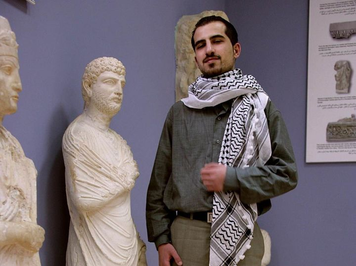 Missingactivist Bassel Khartabil, pictured in Palmyra, dreamed of reconstructing the ancient city in its original form