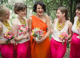 25 Bold, Beautiful Brides Who Wore A Color Other Than White