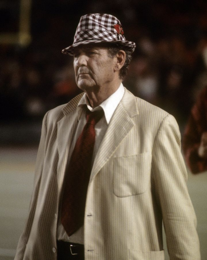 Not even the legendary Bear Bryant was able to claim four championships in a mere seven years.
