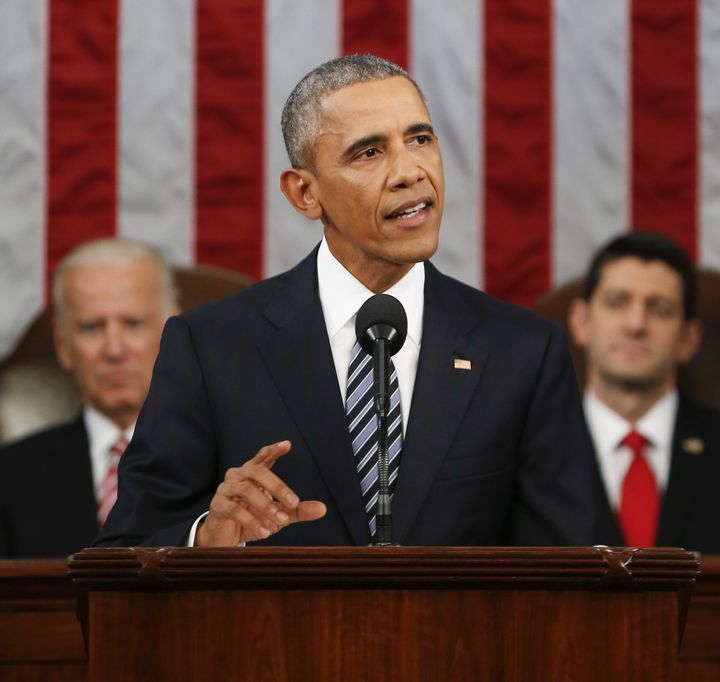 In his State of the Union address to Congress on Tuesday night, President Barack Obama failed to mention the White House's ne