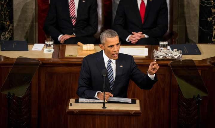 Obama delivered his final State of the Union address on Tuesday Jan. 12, 2016.