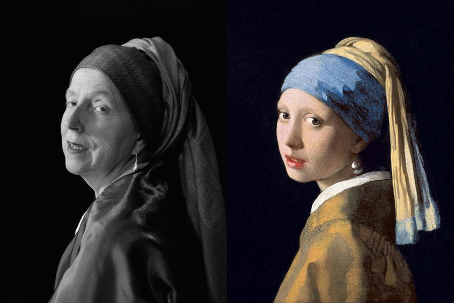 """After Vermeer"" by Laura Hofstadter"