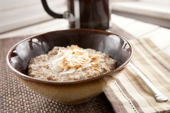"""<strong>Get the <a href=""""http://www.macheesmo.com/2013/03/toasted-coconut-oatmeal/"""" target=""""_blank"""">Toasted Coconut Oatmeal r"""