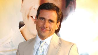 Steve Carell during 'The 40-Year-Old Virgin' Los Angeles Premiere - Arrivals at ArcLight Theatre in Hollywood, California, United States. (Photo by SGranitz/WireImage)
