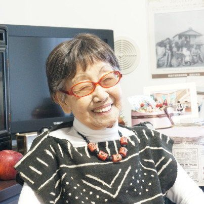 101-year-old Tsuneko Sasamotosays her father opposed her wishto have a career as an artist and photojournalist, b