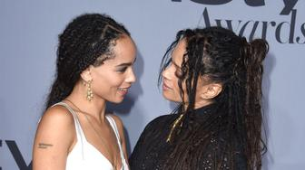 LOS ANGELES, CA - OCTOBER 26:  Zoe Kravitz and Lisa Bonet arrives at the InStyle Awards at Getty Center on October 26, 2015 in Los Angeles, California.  (Photo by Steve Granitz/WireImage)