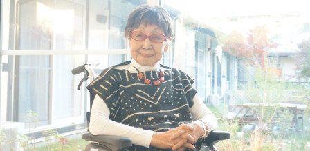 Tsuneko Sasamoto inKamakura, Japan.Sasamoto's ability to speak English helped build her reputation when she was s