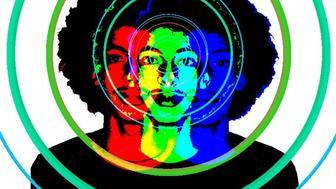 CB RGB Retro Psychedelic Persona: J'y suis L'Art!