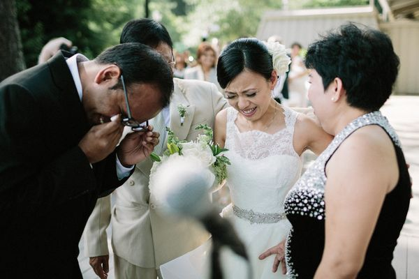 19 Emotional Wedding Moments That Will Make You Teary Eyed Too