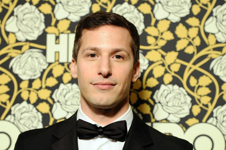 "Andy Samberg, star of ""Brooklyn Nine-Nine"" and ""Hotel Transylvania 2,"" attends HBO's post 2016 Golden Globe Awards party in J"