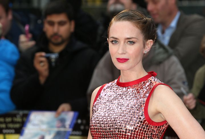 "Actress Emily Blunt, who's reportedly attached to star in ""Bronco Belle."""