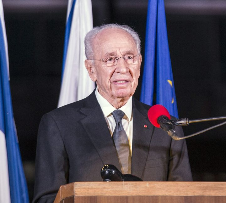 The92-year-old former Israeli prime minister and president wastaken by ambulance to Sheba hospital in Tel Hashome