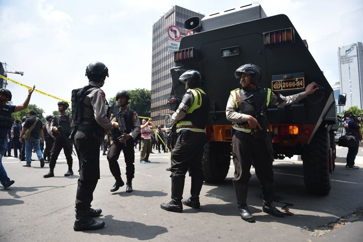 A coordinated assault by a group of suicide bombers and gunmen is unprecedented in Indonesia.