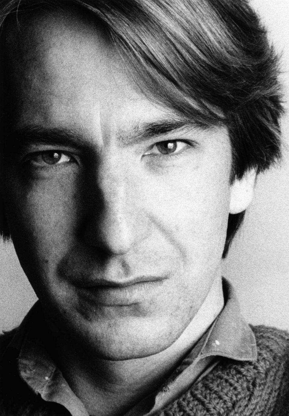 English actor Alan Rickman, London, 1984. (Photo by Geoff Shields/Getty Images)
