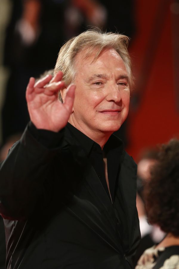 "Actor Alan Rickman attends the ""Une Promesse"" Premiere during the 70th Venice International Film Festival at Sala Darsena on"