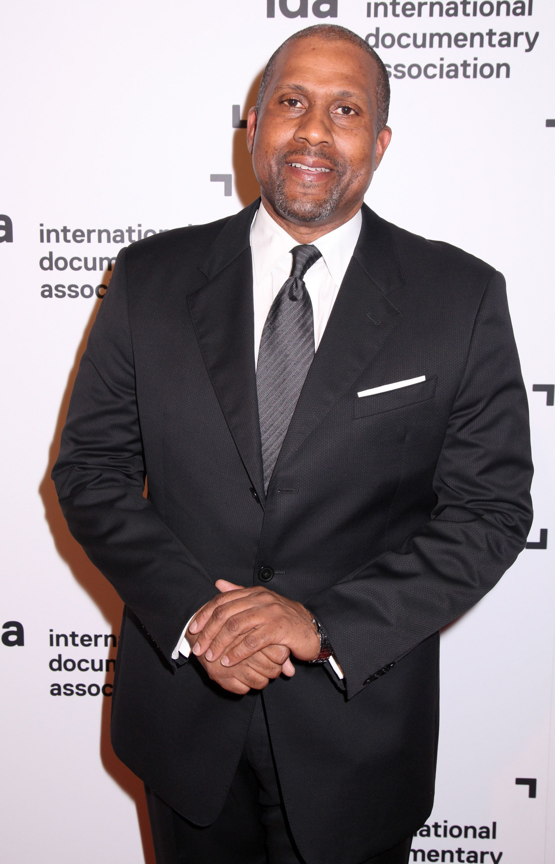 HOLLYWOOD, CA - DECEMBER 05:  Talk show host Tavis Smiley arrives at the International Documentary Association's 2014 IDA Documentary Awards at Paramount Studios on December 5, 2014 in Hollywood, California.  (Photo by Paul Redmond/WireImage)