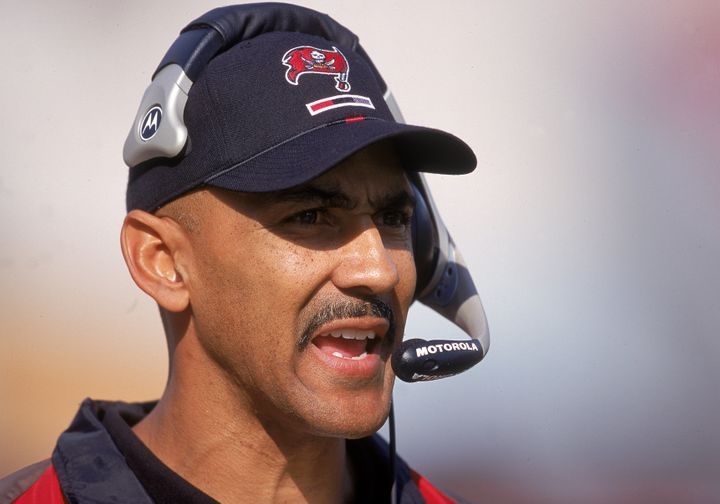 The firing of Tony Dungy, pictured above, along with that of Minnesota Vikings head coach Dennis Green in 2002 led to the est