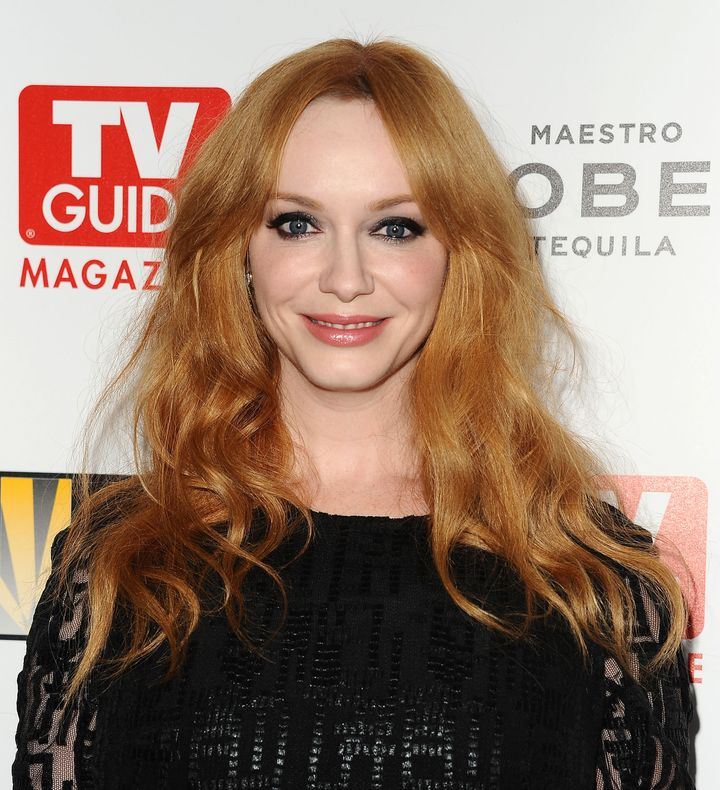 The Inspiration Behind Christina Hendricks Red Hair Is Adorable
