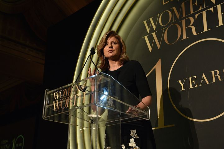 Arianna Huffington issued support for employees' right to organize in October. After negotiations around employees'