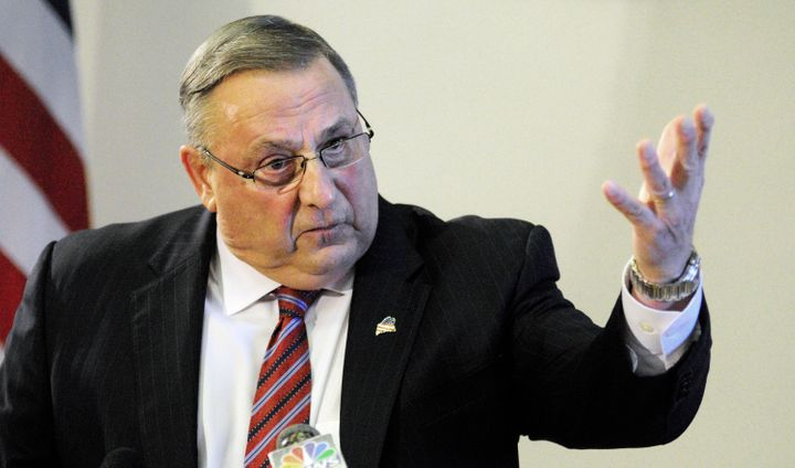 Maine Gov. Paul LePage's (R) job is safe for now.