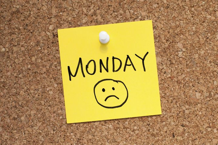 Mondays? Not a symptom of depression.