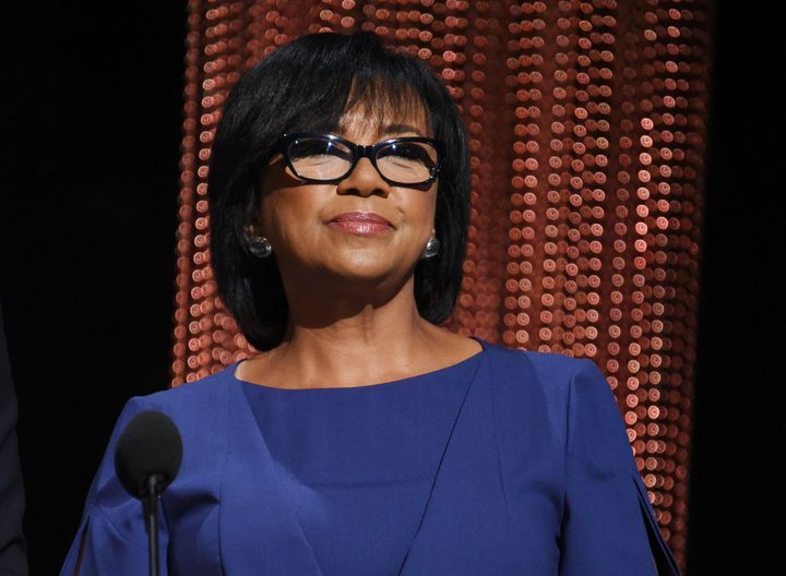 President of the Academy of Motion Picture Arts and Sciences Cheryl Boone Isaacs announces the nominees during the 88th Oscar