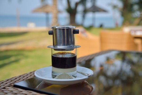 """Vietnamese coffee is the <a href=""""http://allrecipes.com/recipe/77768/vietnamese-iced-coffee/"""" target=""""_blank"""">perfect beverag"""