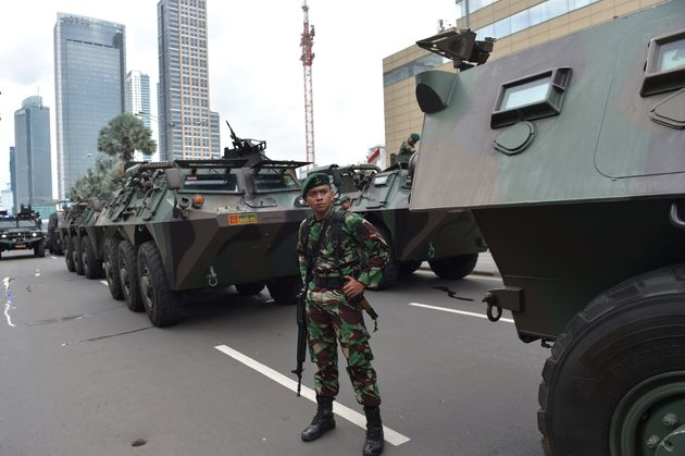 Seven people were killed in Thursday's late-morning siege near Jakarta's busy shopping