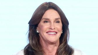PASADENA, CA - JANUARY 14:  Executive producer/tv personality Caitlyn Jenner speaks onstage during the 'I Am Cait' panel discussion at the NBCUniversal portion of the 2016 Winter TCA Tour at Langham Hotel on January 14, 2016 in Pasadena, California.  (Photo by Frederick M. Brown/Getty Images)