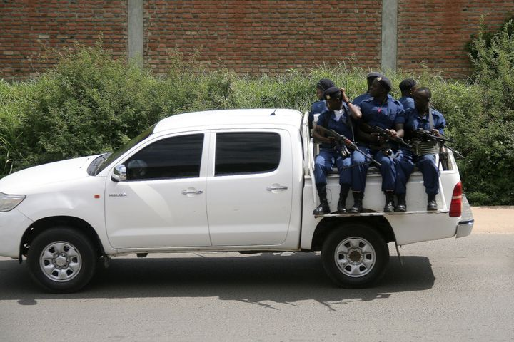 Burundi's security forces gang-raped women during searches of opposition supporters' houses, the United Nations said Friday.