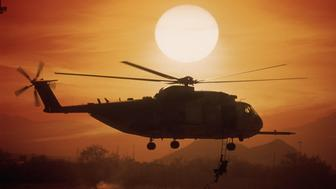 United States Marine Corps Sikorsky CH-53E Super Stallion Helicopter