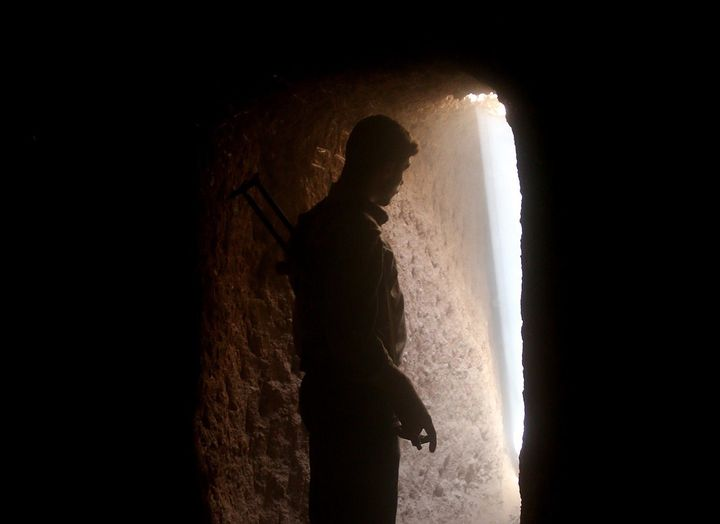 Many armed rebel groups in Syria are allowing most people to access the tunnels at no cost, having previously charged them ab