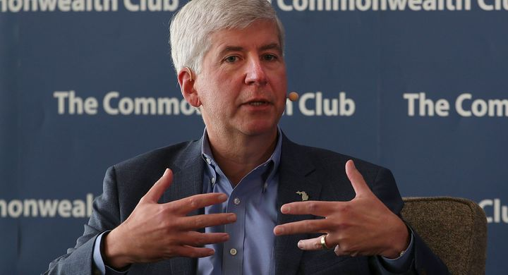 Michigan Gov. Rick Snyder (R) has been blamed for Flint's water crisis, but it took a lot of people working to