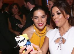 America Ferrera And Eva Longoria Reveal Who Wrote Their Golden Globes Bit