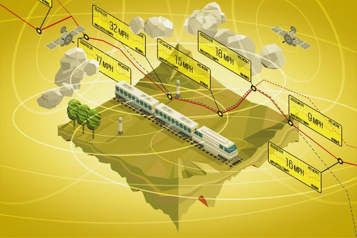 Implementing positive train control technology is an intricate process.