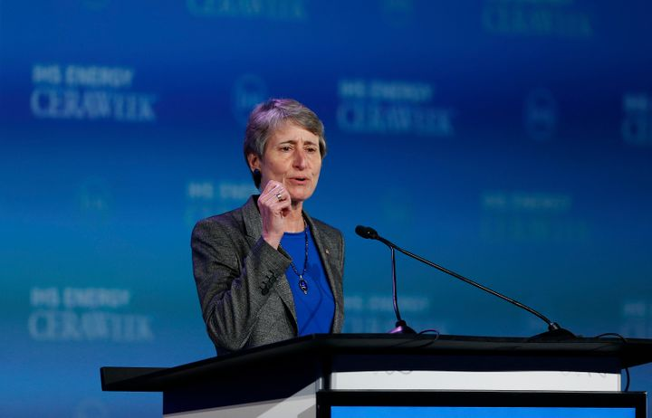 U.S. Interior Secretary Sally Jewell said the administration has a responsibility to take into account coal's impact on climate change.
