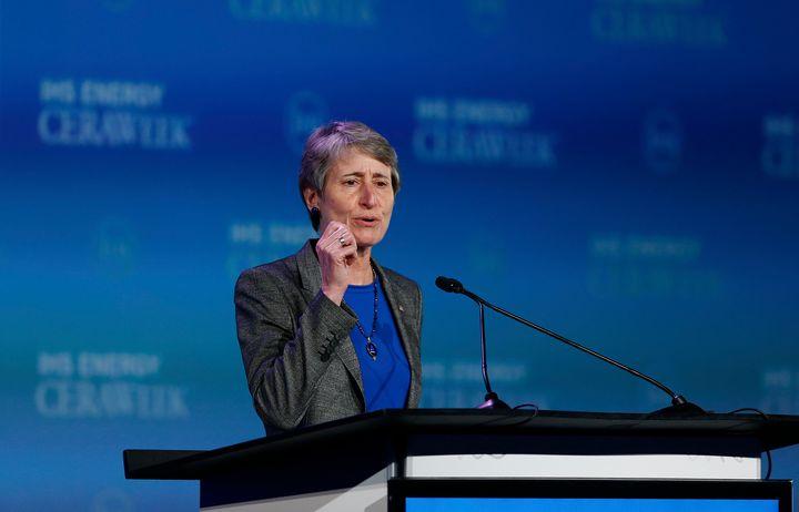 U.S. Interior Secretary Sally Jewell said the administration has a responsibility totake into account coal's impact on