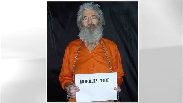 Robert Levinson appeared shackled and wearing an orange jumpsuit in photographs sent to his family.