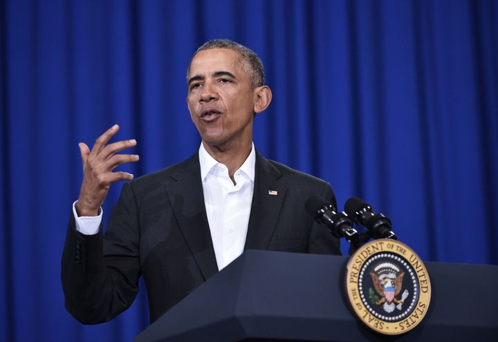 President Barack Obama thinks men might have something to do with the so-called tampon tax.