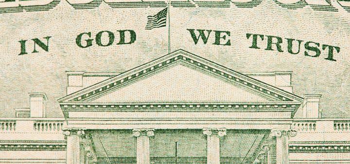 u boga ne verujemo parama se molimo