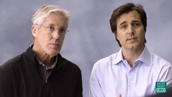 Pete Carroll and Michael Gervais