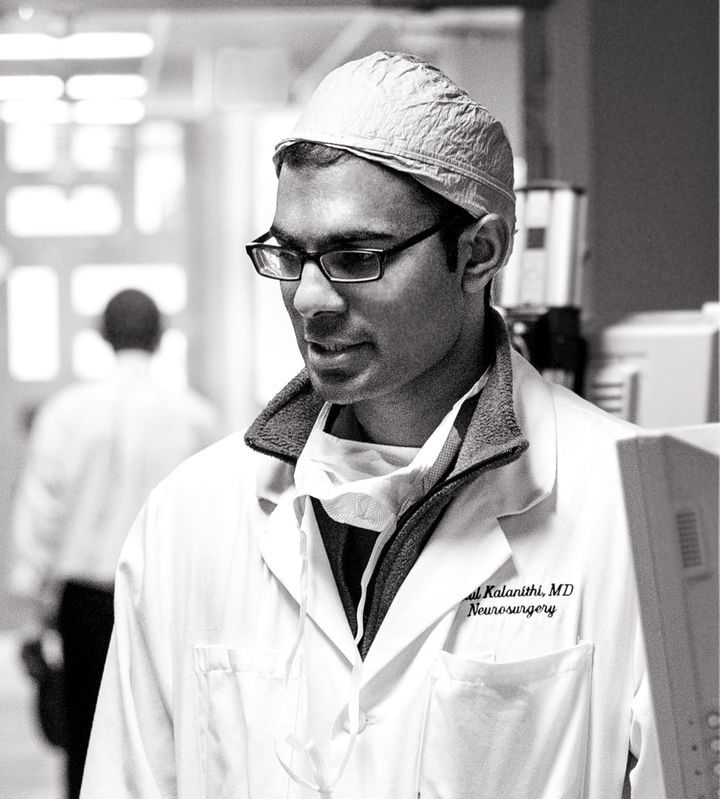 Dr. Paul Kalanithi at the Stanford Hospital and Clinics in 2014. Kalanithi died in March, 22 months after he was diagnosed with stage IV lung cancer.