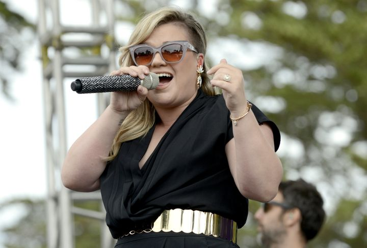 """The only question remaining is if Kelly Clarkson willsing """"A Moment Like This."""""""