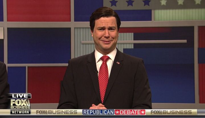 """""""SNL"""" took on Sen. Ted Cruz's """"New York values"""" comment at a recent debate."""