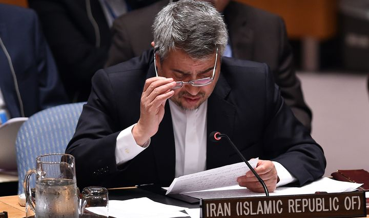 Iran's envoy to the United Nations Gholamali Khoshroo told the progressive Democrats that Iran believes a majority of Congres