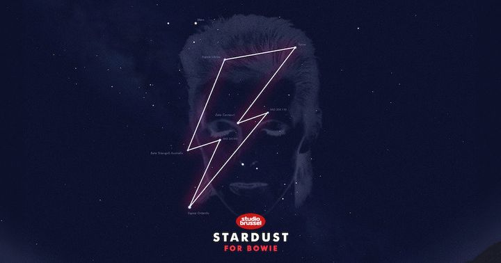 "The constellation is linked to Google Sky's ""Stardust for Bowie"" initiative, which lets fans pay tribute by naming their favo"