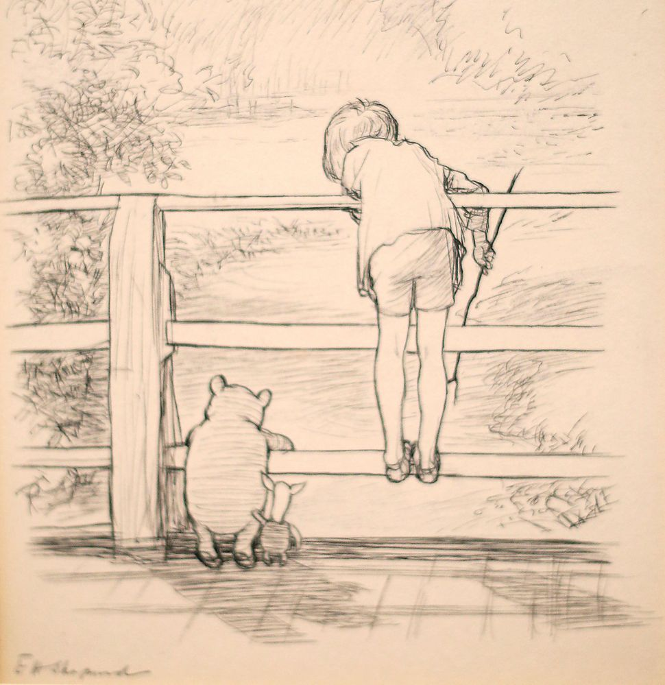 The Real Forest That Inspired Winnie-The-Pooh's Hundred Acre