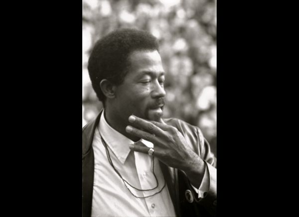 Eldridge Cleaver, Minister of Information for the Black Panther Party and presidential candidate for the Peace and Freedom Pa
