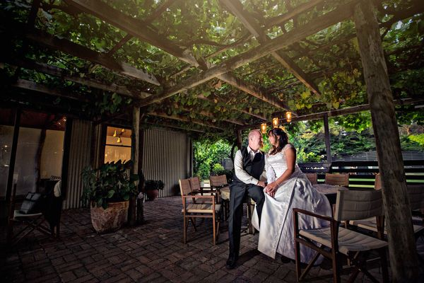 """The beautiful wedding of Phil and Cathy in the Currant Shed [in South Australia] on January 16, 2016."" - Scott Goh"